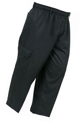 Mercer Culinary M61090BKM Genesis Unisex Chef Cargo Pant, Medium, Black