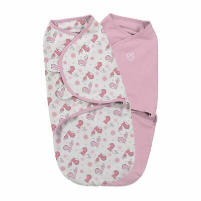 Summer Infant - Original Baby Swaddle Wrap Small Tweet Tweet 2Pk (100% cotton)