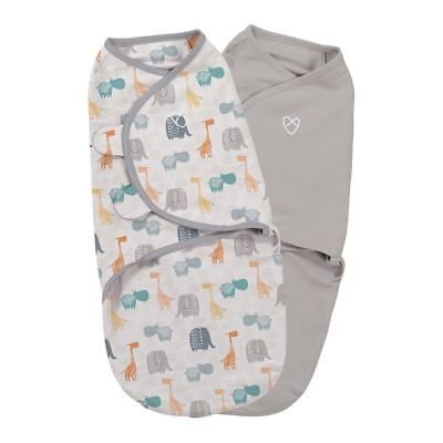 Summer Infant - Original Baby Wrap Swaddle Small Bohemian Jungle 2Pk (COTTON)