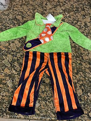 New One-Piece Pirate Halloween Costume Toddler Size 12-18 months
