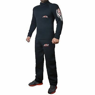 4Fit™ Heavy Duty Neoprene Sweat Suit Sauna Exercise Gym Suit Fitness