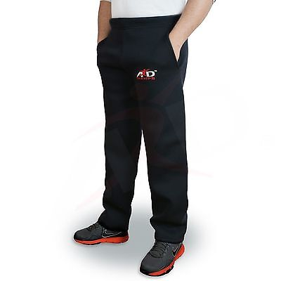 4Fit™ Men's Neoprene Weight Loss Sauna Pant MMA Gym Boxing Black