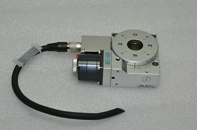 CHUO SEIKI  Motorized Rotary Stage Positioner Diameter 60mm, MM-60, 10F-137