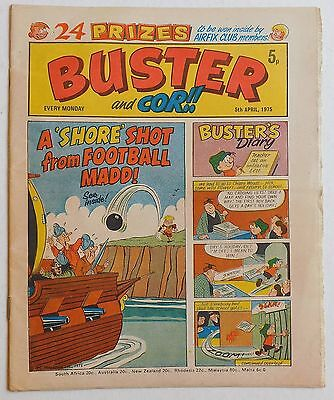 BUSTER and COR Comic - 5th April 1975