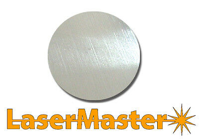 10 x 1.5mm Brushed Stainless Steel Discs 65mm diameter
