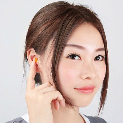NEW 200 Pairs1100 Disposable Uncorded Individual Wrap Foam EarPlug Noise Reducer