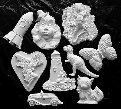 9 x Kids Painting Plaster Mould Craft Pack - Large!