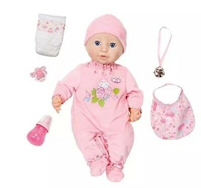 Baby Annabell Nurturing Doll With Realistic Functions Perfect Gift Free Delivery