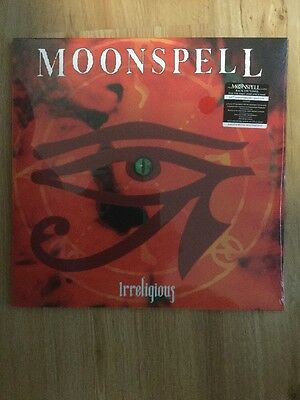 Moonspell Irreligious Vinyl LP red 2016 lim 100 sealed