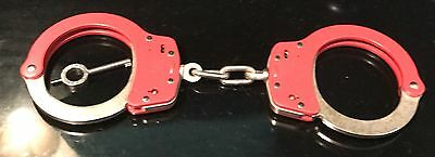 Smith & Wesson red Handcuffs Police Security