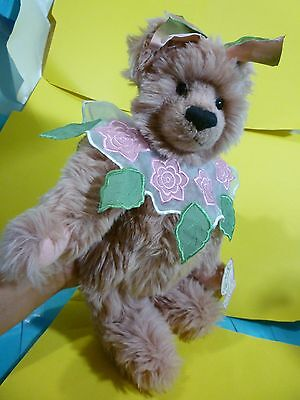 Annette Funicello Bear Plush--13 Inches Tall--New With Original Tags