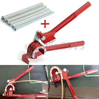 3 In 1 Tube Bender w/ 5PCS Spring Bending Tube For Plumbing Copper Aluminum Pipe