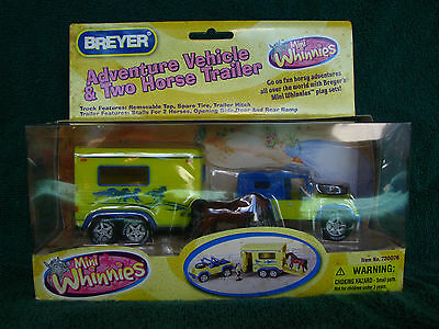 Breyer Mini Whinnies 2008 Target Exclusive Jeep & Trailer Set
