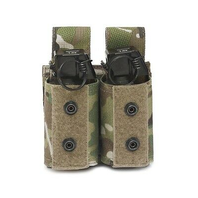 ELITE OPS MOLLE DOUBLE 40mm GRENADE / NICO FLASHBANG / 38mm BATON ROUND POUCH