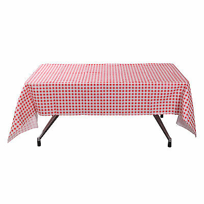 Wipe Clean PVC Style 1 Vinyl Tablecloth Dining Kitchen Cover Protector140x240cm