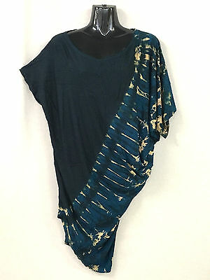 """Lot of 5 spandex """"asymmetric design""""tops/dresses.Suits small and plus sizes.New"""