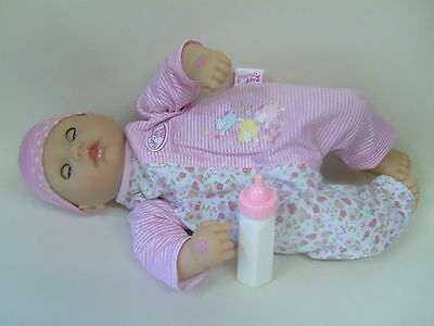 """Baby Annabell My First Baby Annabell Interactive Doll 14""""  Babbles, Makes Suckin"""