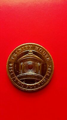 2014 Royal Mint UK Trinity House Silver Proof £2 Two pound coin