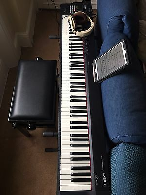Roland A-88 Digital Piano - Midi controller - weighted grand piano feel (A88)