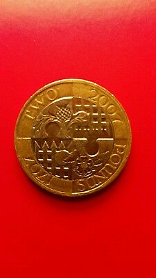 2007 Royal Mint Act of Union £2 Two Pound Coin