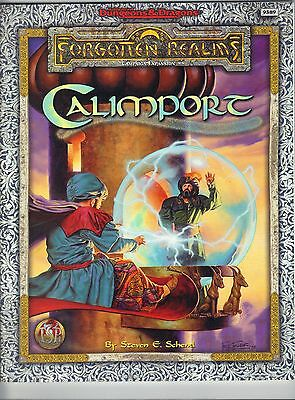 CALIMPORT Forgotten Realms AD&D 9589 TSR Price Includes Delivery In UK