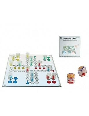 Drinking Ludo Board Game With Shot Glasses Perfect For Parties 79/3943