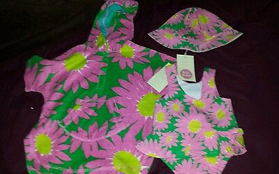 Bnwt girls mini boden swimwear set size 0