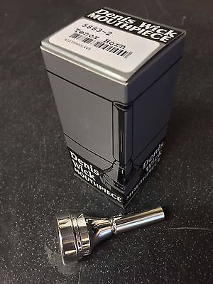 Denis Wick 2 Eb Tenor Mouthpiece-New,Unused Silver Plated-