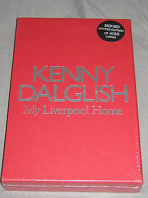 KENNY DALGLISH my liverpool home signed slipcase edition still sealed mint!