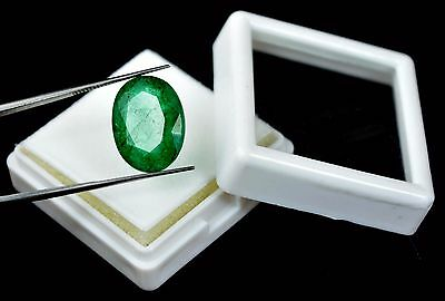 10.60 Ct. Ebay Natural Oval IGL Certified Colombian Emerald Loose Gemstone-DEALS