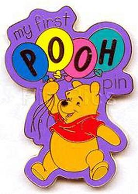 Winnie Pooh My First never sold WDW never sold Authentic Disney Pin