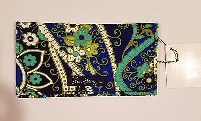 NWT Vera Bradley checkbook cover - RHYTHM & BLUES - MINT - NEW - FREE SHIPPING