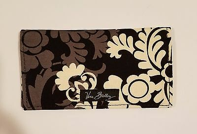 NWT Vera Bradley checkbook cover - BAROQUE - MINT - NEW - FREE SHIPPING