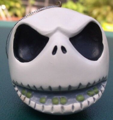 Nightmare Before Christmas Jack smiling head ornament