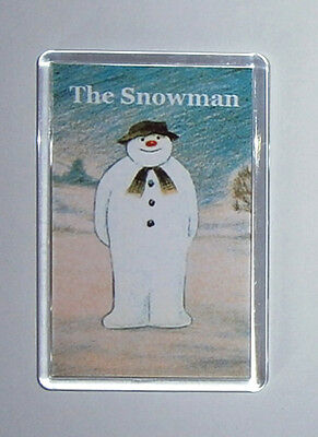 The Snowman movie poster fridge magnet Keyring - New - Aled Jones David Bowie