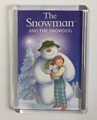 The Snowman & The Snowdog movie poster fridge magnet Keyring Raymond Briggs