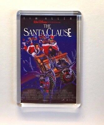 The Santa Clause Tim Allen Judge Reinhold movie poster Magnet Keyring New