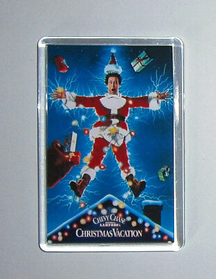 Christmas Vacation Chevy Chase Beverly D'Angelo movie poster fridge magnet New