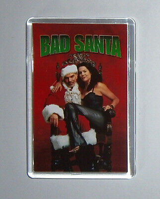 Bad Santa Bad Santa 2 Billy Bob Thornton movie poster fridge magnets & Keyrings