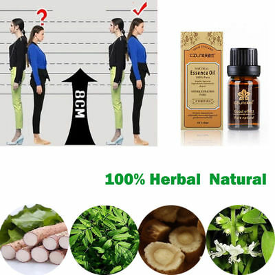 Essential Height Grow Bone Growth Natural Taller Body Heighten Increasing Oil