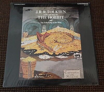 J R R Tolkien Reads And Sings The Hobbit LP Vinyl Record