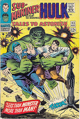 Tales To Astonish 83 - Krang App (Silver Age 1966) - 5.0