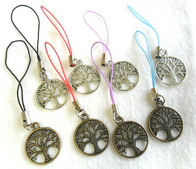 Tree-of-life mobile/ bag charm - choice of 8 colourways