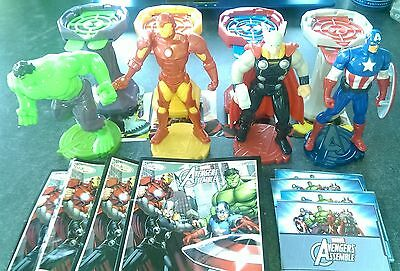 Maxi Ferrero Marvel Avengers Assemble 2015 FF-3-25A-28A compl. set with all Bpz