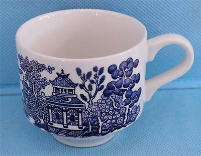 Churchill England Blue Willow Replacement Coffee Tea Mug EXCELLENT Condition!!