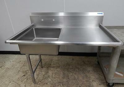 """BK Left-Side Undercounter Dish Table, New """"Scratch & Dent"""", 50"""" Wide"""
