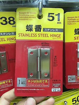 Japan Import Garden Woodworking DIY carpenter education Stainless steel hinge