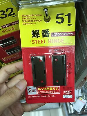 Japan Import Garden Woodworking DIY carpenter education  steel hinge 32mm black