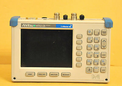 Anritsu CellMaster MT8212B Cable Antenna & Base Station Analyzer GPS Options