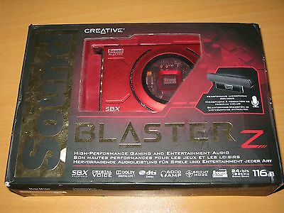Sound Blaster Z SBX SB1500 sound card / BOX